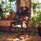 Rocking Chair in Victorian Parlor by Susan Savad