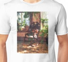 Rocking Chair in Victorian Parlor Unisex T-Shirt