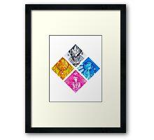 The Diamond Authority Framed Print