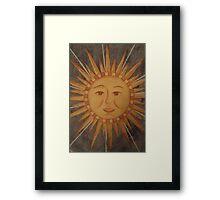 Sunshine On My Window Framed Print