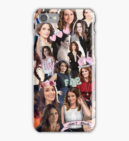 Tina Fey Collage iPhone Case/Skin