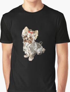 Yorkie Graphic T-Shirt