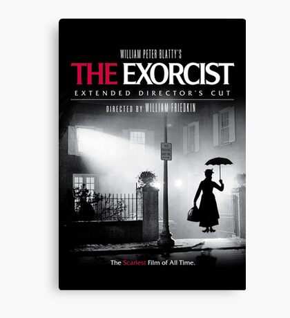Mary Poppins in The Exorcist Canvas Print