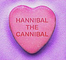 'Hannibal the Cannibal' Candy Heart by theshopatl