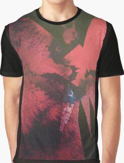 Pink Splash Graphic T-Shirt