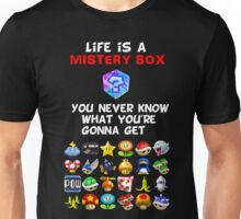 Life is a Mistery Box (of Mario Kart) A Unisex T-Shirt
