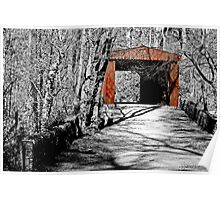 Thomas Mill Covered Bridge Poster