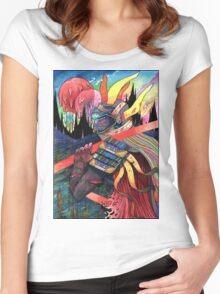 El huervo samurai 2 Women's Fitted Scoop T-Shirt