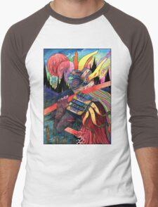 El huervo samurai 2 Men's Baseball ¾ T-Shirt