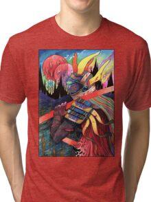 El huervo samurai 2 Tri-blend T-Shirt
