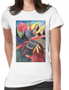 El huervo samurai 2 Womens Fitted T-Shirt