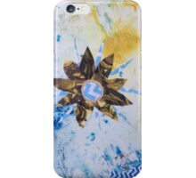 Sequin flower iPhone Case/Skin