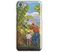 Harvesting the Plantation iPhone Case/Skin