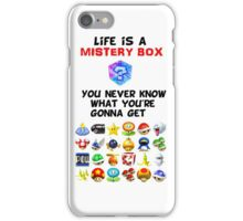 Life is a Mistery Box (of Mario Kart) B iPhone Case/Skin