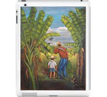 Harvesting the Plantation iPad Case/Skin