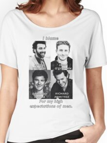 High Expectations of Men Women's Relaxed Fit T-Shirt