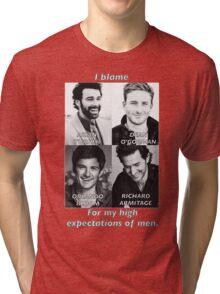 High Expectations of Men Tri-blend T-Shirt