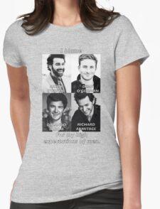 High Expectations of Men T-Shirt