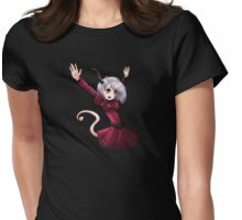 Demon Girl Womens Fitted T-Shirt