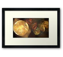 Earthen Spheres Framed Print