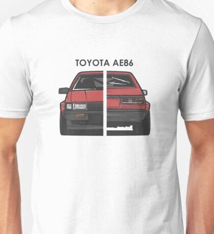 Hachi-roku - AE86 - Levin Unisex T-Shirt