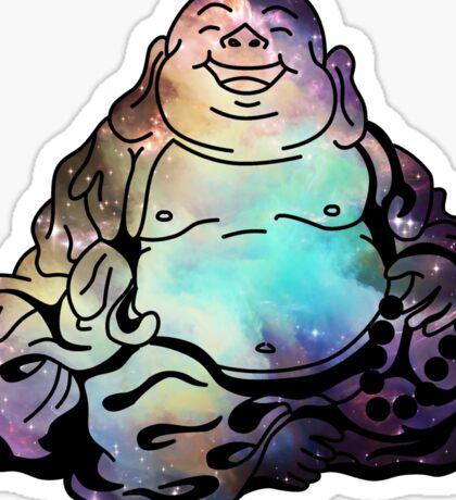 BUDDHA BOI IN SPACE Sticker