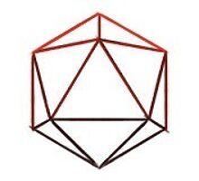 ODESZA red ombre logo  by jillian12345678