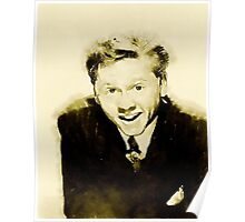 Mickey Rooney by John Springfield Poster