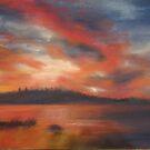 Line of fire (Gala Lake) by bevmorgan