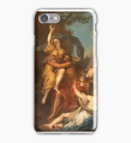 French School, THE RAPE OF PROSERPINA. iPhone Case/Skin