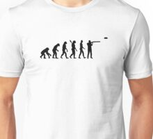 Evolution trap shooting Unisex T-Shirt