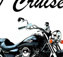 Lets Cruise Sticker