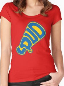 Out loud Women's Fitted Scoop T-Shirt