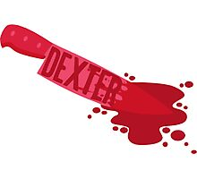 Dexter-Knife Photographic Print