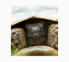 Tortoise hiding its head Unisex T-Shirt