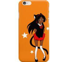 Neko School Girl iPhone Case/Skin