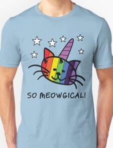 Unicorn Cat UniKitty So Meowgical T Shirt T-Shirt