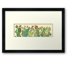 Prickly Pear, Long Framed Print