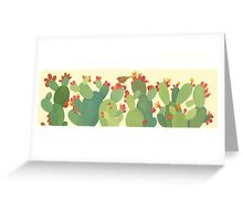 Prickly Pear, Long Greeting Card