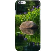 Pickerel at the Pond iPhone Case/Skin