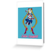 Undertale Sailor Papyrus Greeting Card