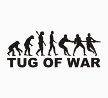 Evolution tug of war One Piece - Short Sleeve