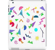 80s Geometric Shape Retro Pattern iPad Case/Skin