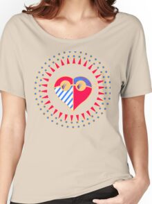 Love is Radically Blind (Color Ver.) Women's Relaxed Fit T-Shirt
