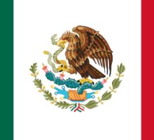 Official Flag of Mexico Sticker