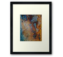 Pier Patina Framed Print