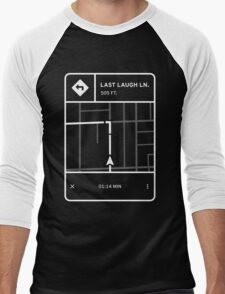 Fluorescent Adolescent -Last Laugh Lane Directions Men's Baseball ¾ T-Shirt