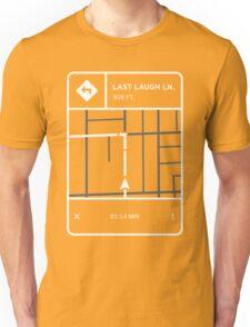 Fluorescent Adolescent - Last Laugh Lane Directions Unisex T-Shirt