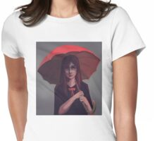 Under my Umbrella Womens Fitted T-Shirt