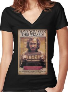 Sirius Black! Women's Fitted V-Neck T-Shirt